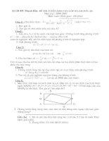 Đề thi HSG toán lớp 9 có đáp án đề 44