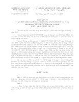 quy định nhiệm vụ chi bảo vệ môi trường trên địa bàn tỉnh Sóc Trăng