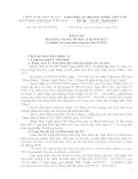261 /BC-SVHTTDL : BÁO CÁO Hoạt động văn hóa, thể thao và du lịch Quý I  và nhiệm vụ trọng tâm công tác Quý II/2012