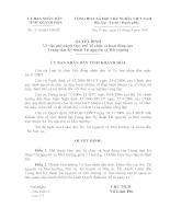 phê duyệt Quy chế Tổ chức và hoạt động của  Trung tâm Kỹ thuật Tài nguyên và Môi trường