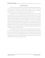 Tổ chức kế toán tập hợp chi phí sản xuất và tính giá thành sản phẩm ở Công ty cổ phần sơn tổng hợp Hà Nội