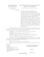Thư mời chương trình họp của ủy ban nhân dân tỉnh đồng tháp