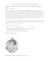 Các Khái niệm cơ bản về Bóng bàn với Richard Prause