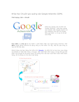 Khóa học Chuyên gia quảng cáo Google Adwords (SEM)