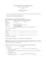 Hợp đồng cho thuê gian hàng hội tin học tỉnh Khánh hòa