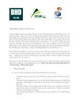 Giới thiệu về Công ty BHD