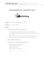 online marketing conference 2009