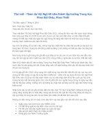 Thư mời - Tham dự Hội Ngộ 60 năm thành lập trường Trung Học Phan Bội Châu, Phan Thiết