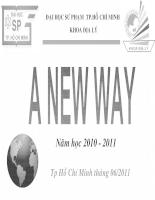 Giới thiệu dự án A New Way
