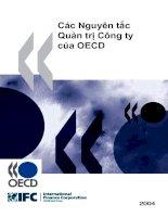 Các nguyên tắc quản trị công ty của OECD
