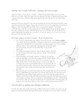 Quảng cáo Google AdWords - Quảng cáo trên Google