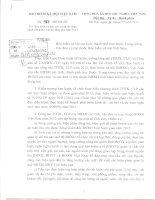 Công văn thực hiện và báo cáo công tác thực hành tiết kiệm, chống lãng phí năm 2011