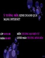 Kinh doanh qua mạng internet