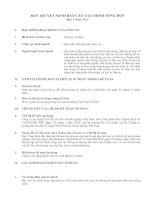 bản thuyết minh báo cáo tài chính tổng hợp quý 3 năm 2012x