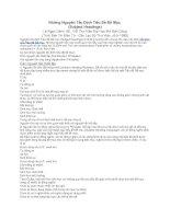 Những Nguyên Tắc Định Tiêu Đề Đề Mục  (Subject Headings)