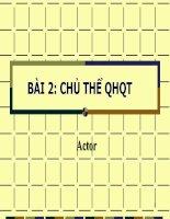 Bài 2 Chủ thể QHQT