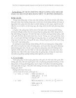 SỬ DỤNG PHƯƠNG PHÁP LƯỢNG GIÁC HÓA ĐỂ GIẢI CÁC BÀI TOÁN BẤT ĐẲNG THỨC VÀ HƯỚNG MỞ RỘNG