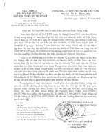 Danh mục các văn bản hướng dẫn đại hội đại biểu các dân tộc thiểu số Việt nam