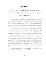 Giải pháp phát triển kinh doanh du lịch lữ hành Việt Nam 4