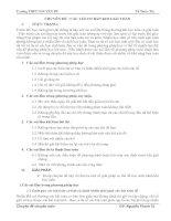 Chuyên đề Các lỗi cơ bản khi giải toán