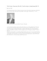 Thứ trưởng  Ngoại giao Hoa Kỳ về môi trường và năng lượng đến VN