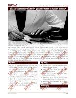 Soạn thảo văn bản quản lý kinh tế doanh nghiệp