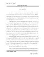 Tổ chức công tác kế toán tài sản cố định ở Công ty dệt vải công nghiệp Hà Nội