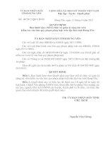 Quyết định Ban hành Quy chế tổ chức và quản lý cộng tác viên