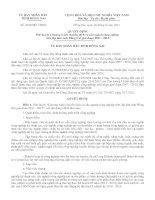 Quyết định Phê duyệt Chương trình chuyển dịch cơ cấu ngành công nghiệp trên địa bàn tỉn đồng nai giai đoạn 2011-2015