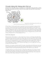 Cơ cấu tài sản và nguồn vốn của Hoàng Anh Gia Laix