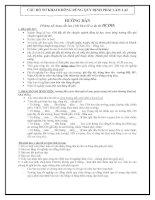 Hướng dẫn những nội dung cần lưu ý khi khai hồ sơ dự thi HCĐH