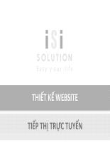 Thiết kế website tiếp thị trực tuyến