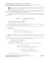 21 sai lam chet nguoi trong lap trinh voi PHP