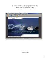 Tài liệu hướng dẫn sử dụng phần mềm khai báo hải quan Ecusk2