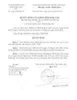 QUyết định của UBND tỉnh đăk lăk ban hành quy chế làm việc của UBND tỉnh Đăk lăk