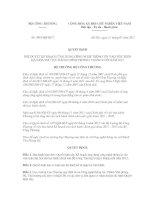 Quyết định phê duyệt hế hoạch ứng dụng công nghệ thông tin vào việc hiện đại hóa thủ tục hành chính trong 6 tháng cuối năm 2012
