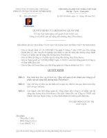 Ban hành quy chế quản lý tài chính của công ty cổ phần vận tải xăng dầu đường thủy petrolimex