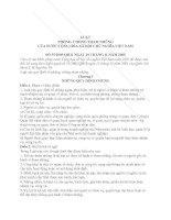 Luật phòng chống tham nhũng