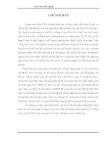 ĐÁNH GIÁ CÔNG TÁC KẾ HOẠCH CỦA CÔNG TY CHÈ VIỆT NAM