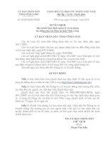 Quyết định Ban hành Quy định quản lý và sử dụng hệ thống thư tín điên tử tỉnh Vĩnh long