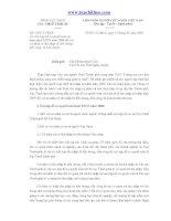 153/CT-TNCN: Nơi nộp hồ sơ quyết toán và hoàn thuế TNCN năm 2009 đối với cá nhân có thu nhập từ tiền lươngtiền công, từ kinh doanh