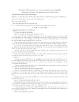 Thẩm định và Phê duyệt báo cáo đánh giá tác động môi trường (ĐTM)