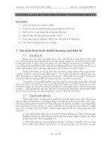 Thương mại điện tử - Chương 2: Các mô hình kinh doanh thương mại điện tử
