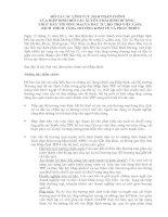 Mô tả các lĩnh vực đàm phán chính của hiệp định đối tác xuyên thái bình dương