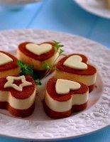 Bánh cuộn Chocolate cho Lễ Valentine