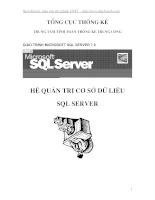 Giaotrinh SQL server 7.0