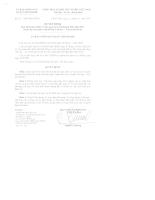 05/2007/QĐ-UBND: Quyết định ban hành quy định về quản lý tuyến đường Điện biên phủ thuộc địa bàn quận Thanh Khê Văn hóa, văn minh đô thị