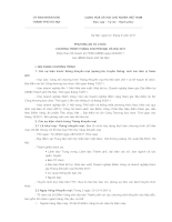 PHƯƠNG ÁN TỔ CHỨC  CHƯƠNG TRÌNH THÁNG KHUYẾN MẠI HÀ NỘI 2011