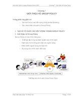 Chương 7- giới thiệu về grouppolicy
