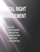 Digital  Right Management